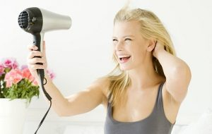 the most efficient way to dry hair quicky is to use blow dryer