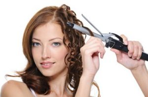 hair waver iron is a cross between flat iron and a curling iron