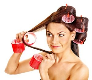 barrel curling iron or hot rollers can help you get beach waves hair