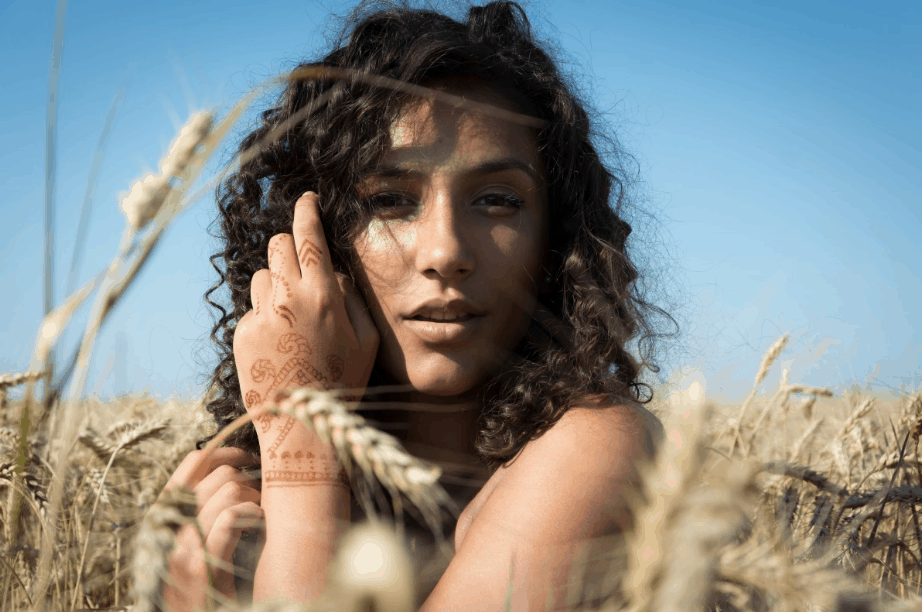 wrap hair at night and protect your perfect curly hair