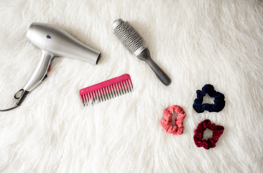 blow drying hair can eventually lead to damage