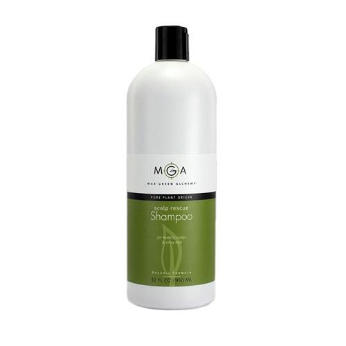 Max Green Alchemy Organic Formula Scalp Rescue Shampoo Refill Size Bottle (32 Fluid Ounces)