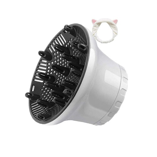 Universal Hair Diffuser Hair Dryer Diffuser Attachment For Curly Wave Thick and Nature Hair
