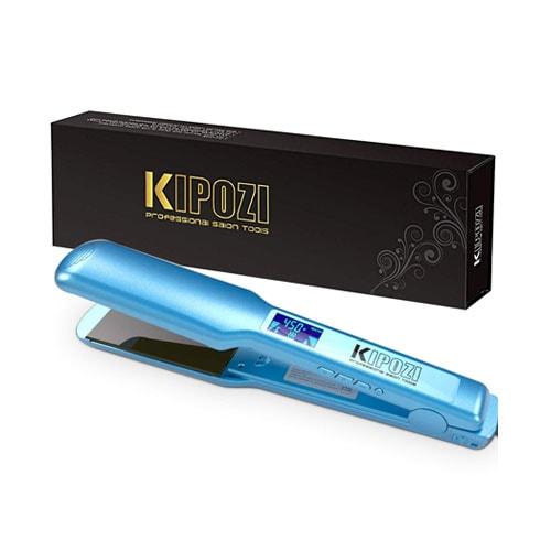KIPOZI Pro Nano Titanium Flat Iron Hair Straightener