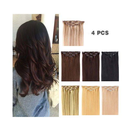 16 Clip in Hair Extensions
