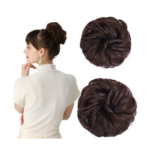 REECHO Women's Thick 2PCS Hair
