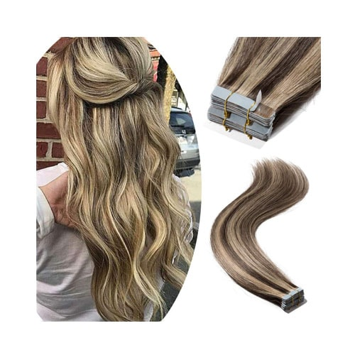 Tape in Remy Hair Extensions 100% Human Hair