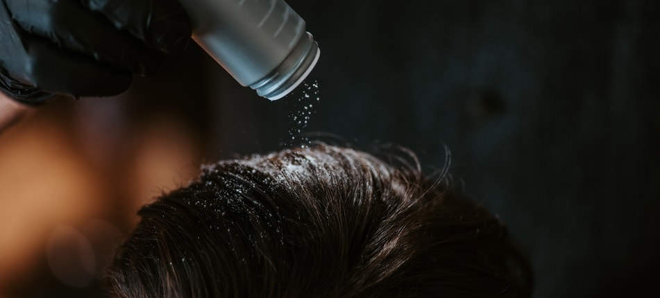 hair powder is best for men with thinning hair