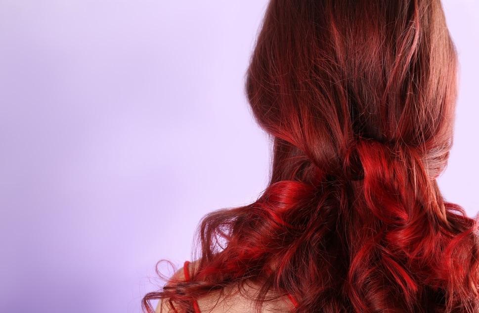 red hair dye .